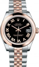 Rolex » _Archive » Datejust 31mm Steel and Everose Gold » 178241-0065