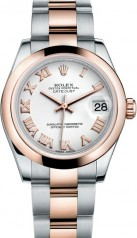 Rolex » _Archive » Datejust 31mm Steel and Everose Gold » 178241-0068