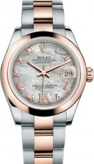 Rolex » _Archive » Datejust 31mm Steel and Everose Gold » 178241-0072