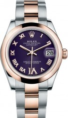 Rolex » _Archive » Datejust 31mm Steel and Everose Gold » 178241-0073