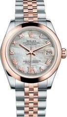 Rolex » _Archive » Datejust 31mm Steel and Everose Gold » 178241-0076