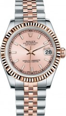 Rolex » _Archive » Datejust 31mm Steel and Everose Gold » 178271-0005