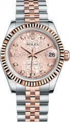 Rolex » _Archive » Datejust 31mm Steel and Everose Gold » 178271-0012