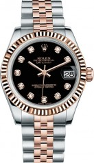 Rolex » _Archive » Datejust 31mm Steel and Everose Gold » 178271-0017