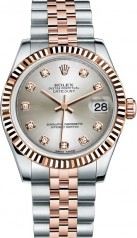 Rolex » _Archive » Datejust 31mm Steel and Everose Gold » 178271-0030