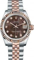 Rolex » _Archive » Datejust 31mm Steel and Everose Gold » 178271-0032