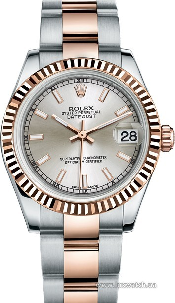 Rolex » _Archive » Datejust 31mm Steel and Everose Gold » 178271-0035