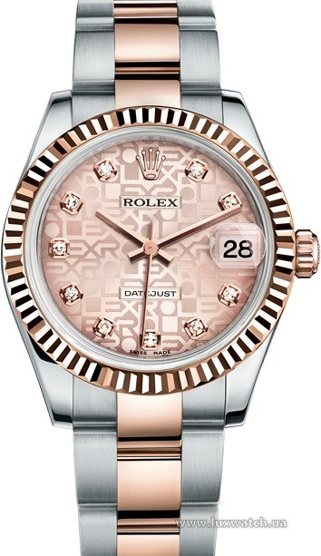 Rolex » _Archive » Datejust 31mm Steel and Everose Gold » 178271-0038