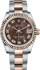Rolex » _Archive » Datejust 31mm Steel and Everose Gold » 178271-0047