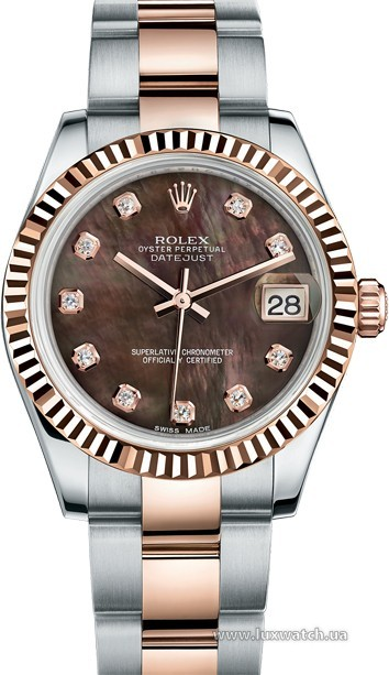 Rolex » _Archive » Datejust 31mm Steel and Everose Gold » 178271-0054