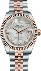 Rolex » _Archive » Datejust 31mm Steel and Everose Gold » 178271-0059