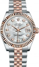 Rolex » _Archive » Datejust 31mm Steel and Everose Gold » 178271-0060