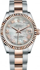 Rolex » _Archive » Datejust 31mm Steel and Everose Gold » 178271-0061