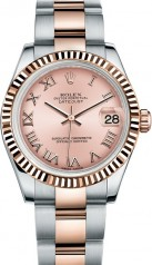 Rolex » _Archive » Datejust 31mm Steel and Everose Gold » 178271-0062