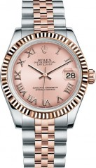 Rolex » _Archive » Datejust 31mm Steel and Everose Gold » 178271-0068