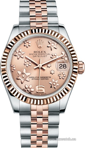 Rolex » _Archive » Datejust 31mm Steel and Everose Gold » 178271-0070
