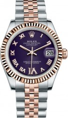 Rolex » _Archive » Datejust 31mm Steel and Everose Gold » 178271-0072