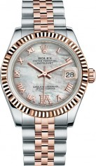 Rolex » _Archive » Datejust 31mm Steel and Everose Gold » 178271-0073
