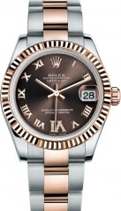 Rolex » _Archive » Datejust 31mm Steel and Everose Gold » 178271-0075