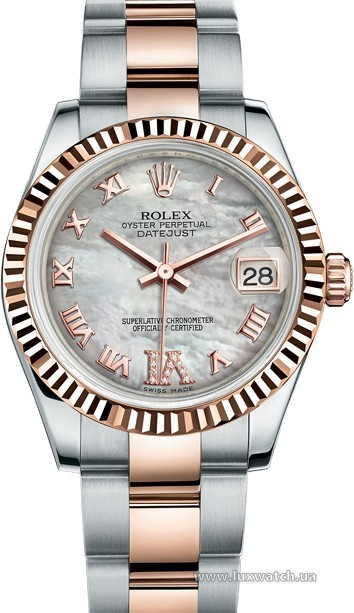 Rolex » _Archive » Datejust 31mm Steel and Everose Gold » 178271-0077