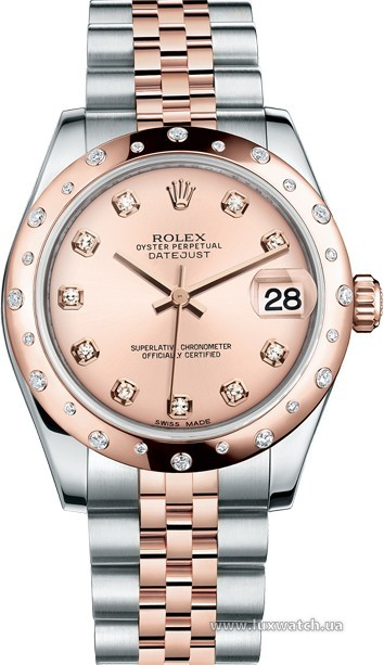 Rolex » _Archive » Datejust 31mm Steel and Everose Gold » 178341-0002
