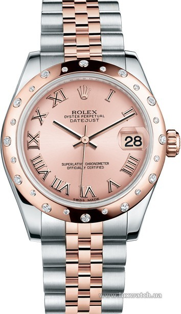 Rolex » _Archive » Datejust 31mm Steel and Everose Gold » 178341-0003