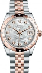 Rolex » _Archive » Datejust 31mm Steel and Everose Gold » 178341-0004