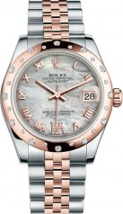 Rolex » _Archive » Datejust 31mm Steel and Everose Gold » 178341-0007