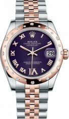 Rolex » _Archive » Datejust 31mm Steel and Everose Gold » 178341-0008