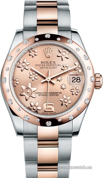 Rolex » _Archive » Datejust 31mm Steel and Everose Gold » 178341-0013