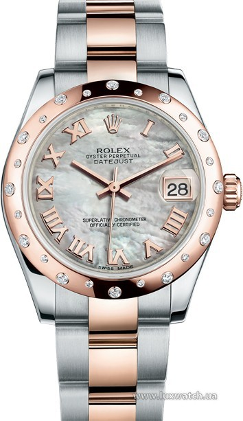Rolex » _Archive » Datejust 31mm Steel and Everose Gold » 178341-0014