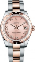 Rolex » _Archive » Datejust 31mm Steel and Everose Gold » 178341-0016