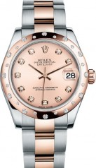 Rolex » _Archive » Datejust 31mm Steel and Everose Gold » 178341-0017