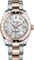 Rolex » _Archive » Datejust 31mm Steel and Everose Gold » 178341-0018