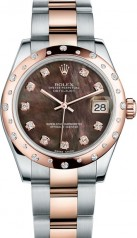 Rolex » _Archive » Datejust 31mm Steel and Everose Gold » 178341-0034