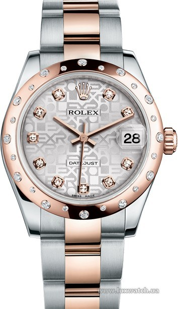 Rolex » _Archive » Datejust 31mm Steel and Everose Gold » 178341-0036