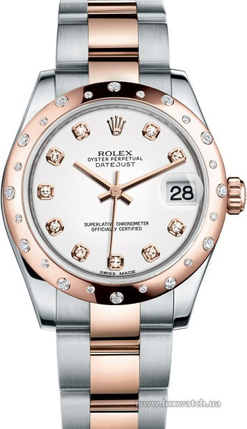 Rolex » _Archive » Datejust 31mm Steel and Everose Gold » 178341-0037