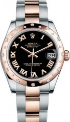Rolex » _Archive » Datejust 31mm Steel and Everose Gold » 178341-0040