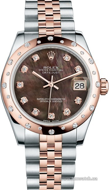 Rolex » _Archive » Datejust 31mm Steel and Everose Gold » 178341-0043
