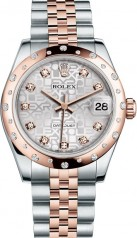 Rolex » _Archive » Datejust 31mm Steel and Everose Gold » 178341-0045