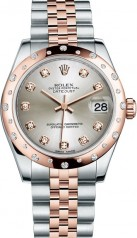 Rolex » _Archive » Datejust 31mm Steel and Everose Gold » 178341-0046