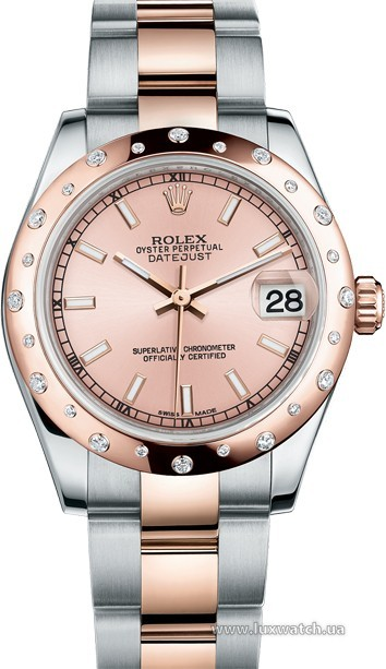 Rolex » _Archive » Datejust 31mm Steel and Everose Gold » 178341-0060