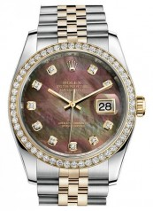 Rolex » _Archive » Datejust 36mm Steel and Yellow Gold » 116243 BlackMOPD