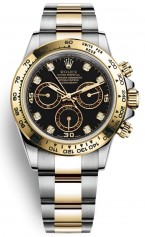 Rolex » _Archive » Cosmograph Daytona 40mm Steel and Yellow Gold » 116503-0008