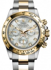 Rolex » _Archive » Cosmograph Daytona 40mm Steel and Yellow Gold » 116503-0007