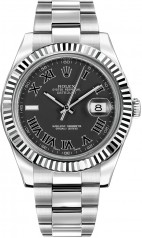 Rolex » _Archive » Datejust II 41mm Steel and White Gold » 116334 bkrio