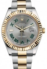 Rolex » _Archive » Datejust II 41mm Steel and Yellow Gold » 116333 Slate