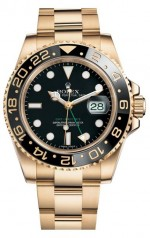 Rolex » _Archive » GMT Master II 40mm Yellow Gold » 116718LN-0001