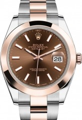 Rolex » Datejust » Datejust 41mm Steel and Everose Gold » 126301-0001