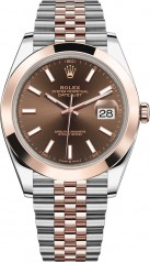 Rolex » Datejust » Datejust 41mm Steel and Everose Gold » 126301-0002